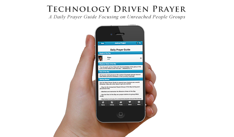 Image from the Project: Joshua Project Mobile App